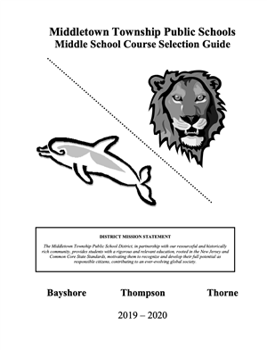 Middle School Course Selection Guide