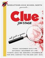 Fall Play - Clue Poster