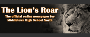 Lion's roar School Newspaper Logo