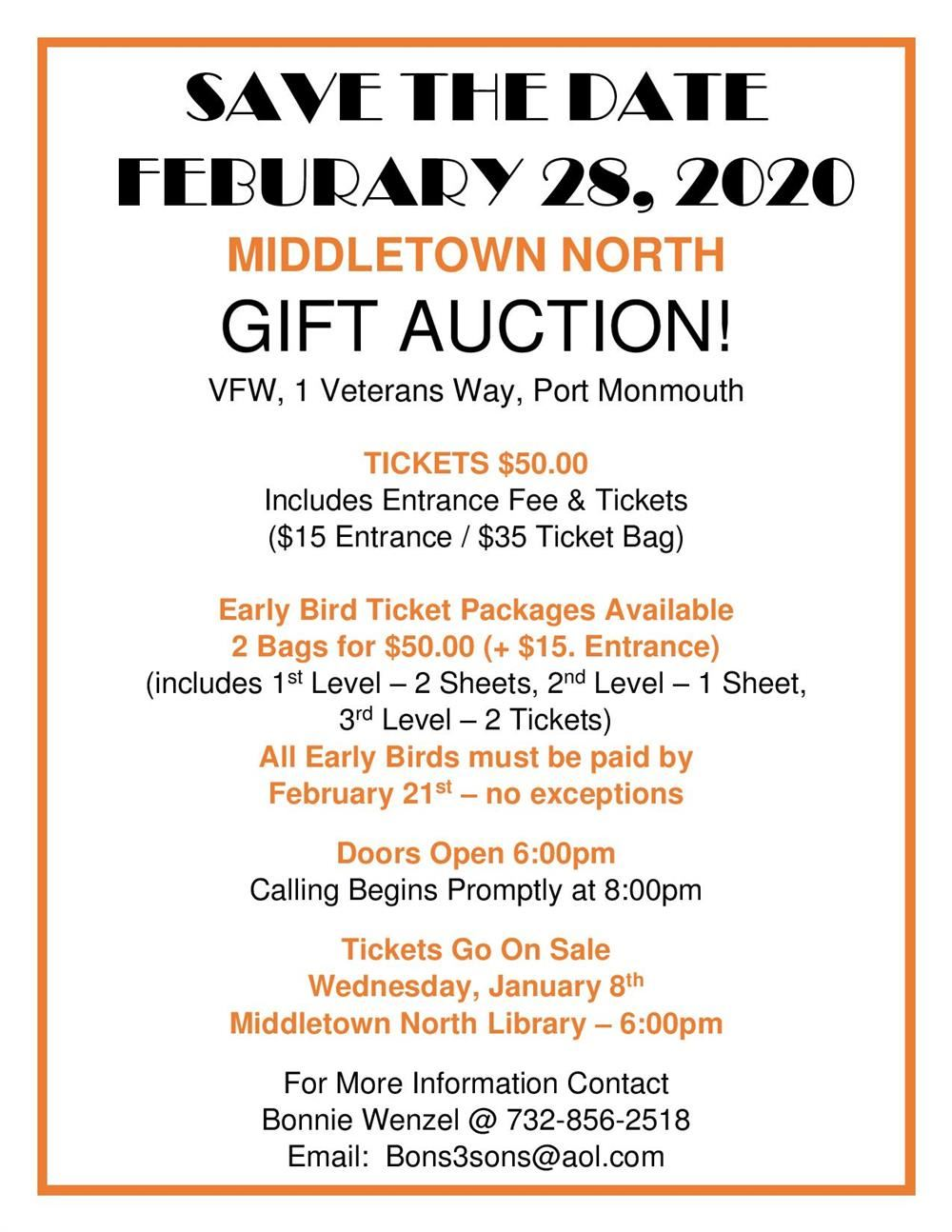 MHSN PFA FEBRUARY GIFT AUCTION information page thumbnail image