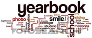 yearbook word art image