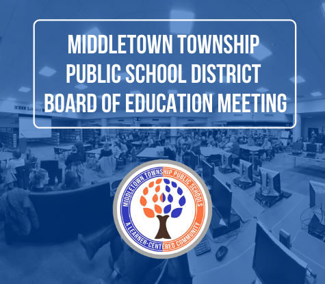 Middletown Township Public School District Board of Education Meeting
