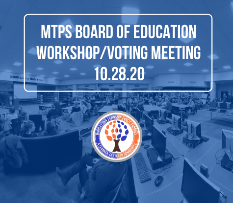 Access the October 28th Virtual Board of Education Workshop/Voting Meeting