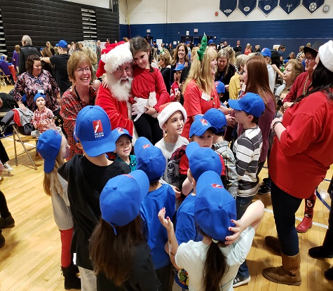 Holiday Express Headlines Holiday Concert for Hundreds of District Students