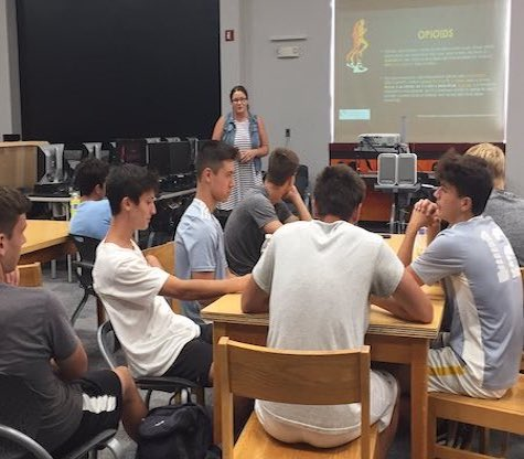 Athletes and Opioids Presentation Delivered to District Teams