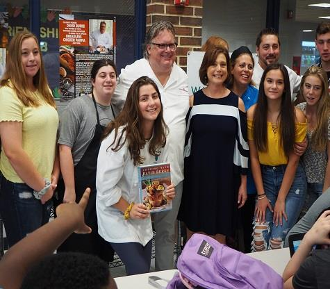 Renowned Chef David Burke Visits High School South