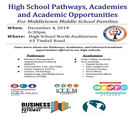 Hundreds Attend High School Pathways, Academies & Academic Opportunities Night