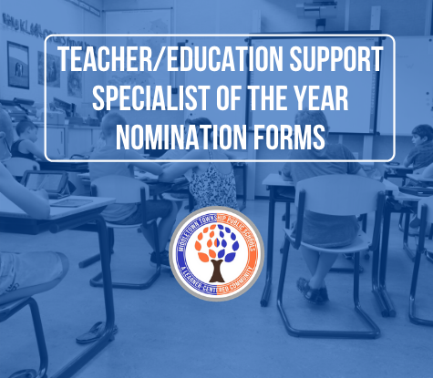Teacher/Education Support Specialist of the Year Nomination Form.