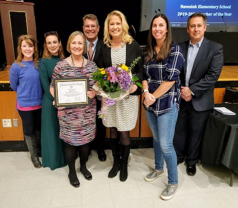 MTPS Teachers of the Year Honored by Dr. George and BOE