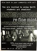 Student Art Exhibit at Re*Fine*Mint