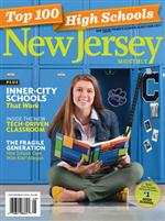 NJ Monthly Magazine cover